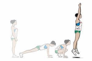 exercice-pour-perdre-du-ventre-facilement-burpees